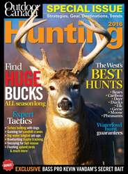 Outdoor Canada issue Hunt Spec 2016