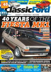 Classic Ford issue No. 242 40 Years Of The Fiesta MK1