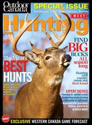 Outdoor Canada issue Hunting West 2016