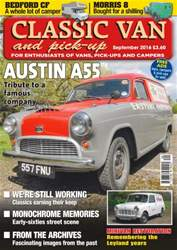 Classic Van & Pick-up issue Vol. 16 No. 11 Austin A55