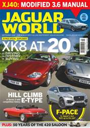 Jaguar World issue No. 175 XK8 at 20