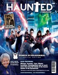 Haunted Magazine issue Issue 16 - Women in Paranormal Special