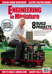 Engineering in Miniature issue September 2016