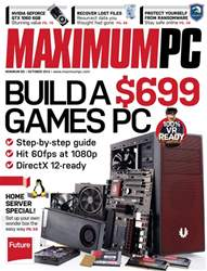 Maximum PC issue October 2016