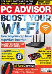 PC Advisor issue October 2016