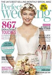 Perfect Wedding issue September 2016