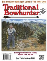 Traditional Bowhunter Magazine issue Oct/Nov 2016