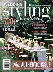 Modern Wedding issue Modern Wedding Styling Handbook - Issue 3