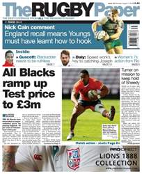 The Rugby Paper issue 7th August 2016