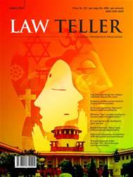 Lawteller – A Legal Awareness Magazine issue August 2016