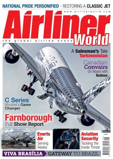 Airliner World issue September 2016