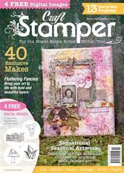 Craft Stamper issue October 2016