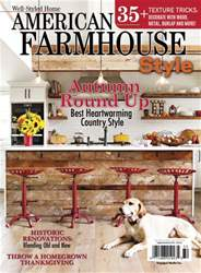 Cottages and Bungalows issue American Farmhouse 2016