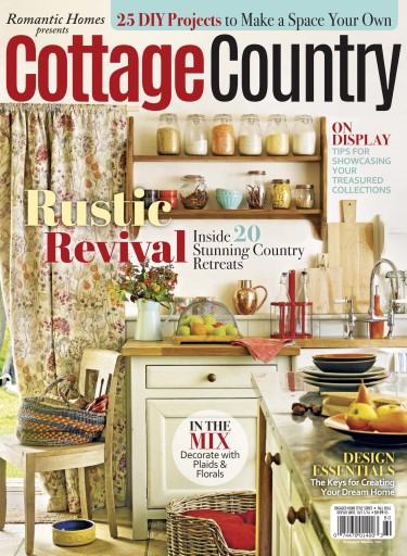 Romantic homes magazine cottage country fall 2016 for Home and cottage magazine