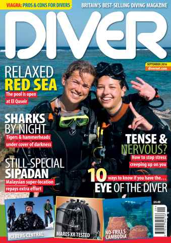 DIVER issue SEPTEMBER 2016