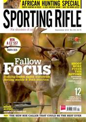 Sporting Rifle issue Sep-16