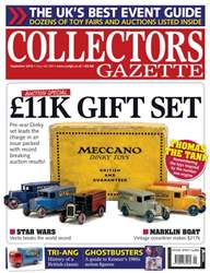 Collectors Gazette issue September 2016
