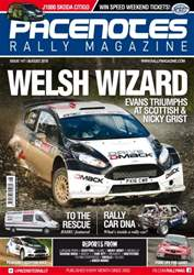 Pacenotes Rally magazine issue Issue 147 - August 2016