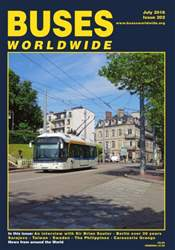 Buses Worldwide issue Issue 202 July 2016