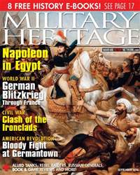 Military Heritage issue September 2016