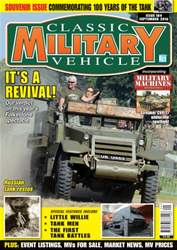 Classic Military Vehicle issue September 2016