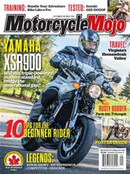 Motorcycle Mojo issue Sept/Oct 2016