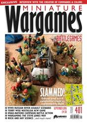 Miniature Wargames issue September 2016 - Issue 401