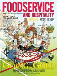 Foodservice and Hospitality issue July/August 2016