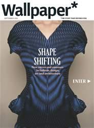 Wallpaper* issue September 2016