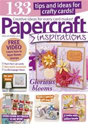 Papercraft Inspirations issue October 2016