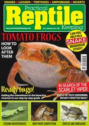 Practical Reptile Keeping issue No. 92 Tomato Frogs
