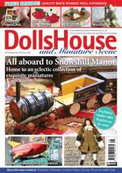 Dolls House and Miniature Scene issue September 2016 (Iss 268)