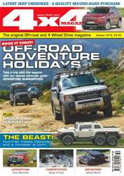 4x4 Magazine issue No. 392 - Off-Road Adventure Holidays