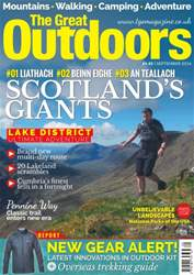 TGO - The Great Outdoors Magazine issue September 2016