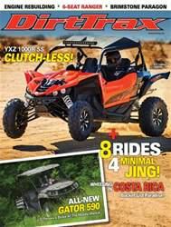 Dirt Trax Magazine Magazine Cover
