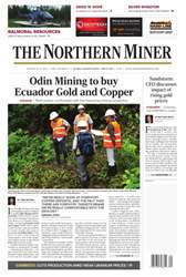 The Northern Miner issue Vol. 102 No. 27