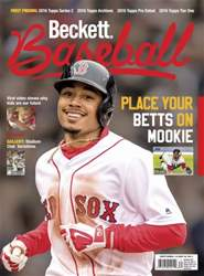 Beckett Baseball issue September 2016
