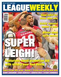 League Weekly issue 736