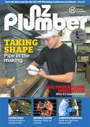 NZ PLUMBER issue NZ Plumber August-September 2016