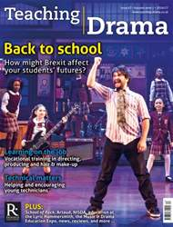 Teaching Drama issue Autumn 1- 2016/17