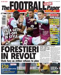 The Football League Paper issue 14th August 2016