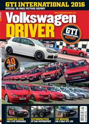 Volkswagen Driver issue September 2016
