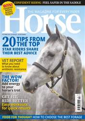 Horse issue October 2016