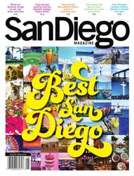 San Diego Magazine issue August 2016