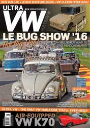 Ultra VW issue September 2016 Issue 157