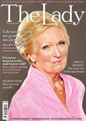The Lady issue 19th August 2016
