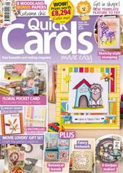 Quick Cards Made Easy issue September 2016
