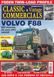 Classic & Vintage Commercials issue Vol. 21 No. 13 Volvo F88