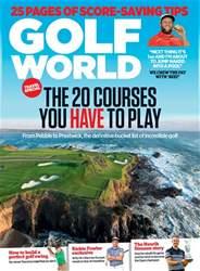Golf World issue October 2016