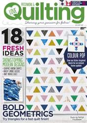 Love Patchwork & Quilting issue Issue 38